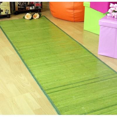 Alfombra de bambú pasillera