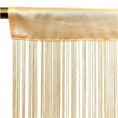Cortinas de hilos 90 x 200 cm
