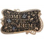 Felpudo goma en relieve Sweet Home 75 cm