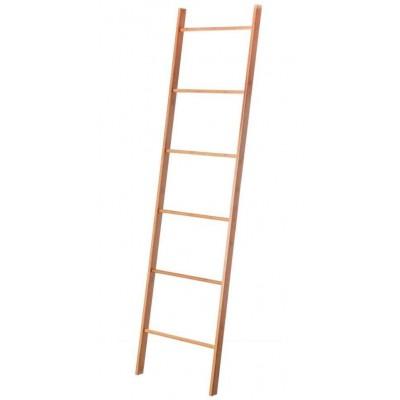Toallero escalera de madera de bambú 170 cm