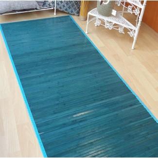 Alfombra de bambú pasillera hasta 3,5 m varios colores y medidas
