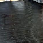 Alfombra de bambú Panda color negro varias medidas