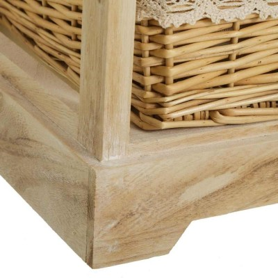 Mueble cajonera 3 cestas y cajón Countryside 81 cm