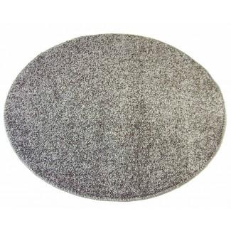 Alfombra redonda antideslizante 80 cm varios colores