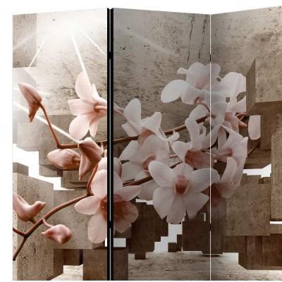 Biombo de 3 hojas Orchid 135x172 cm