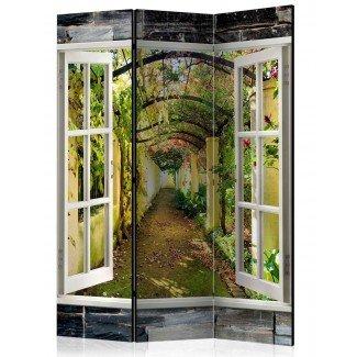Biombo de 3 hojas Jardín Secreto 135x172 cm