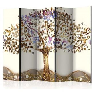 Biombo de 5 hojas El Árbol de la Vida 225x172 cm