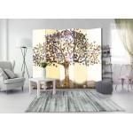 Biombo de 5 hojas Magic Tree 225x172 cm