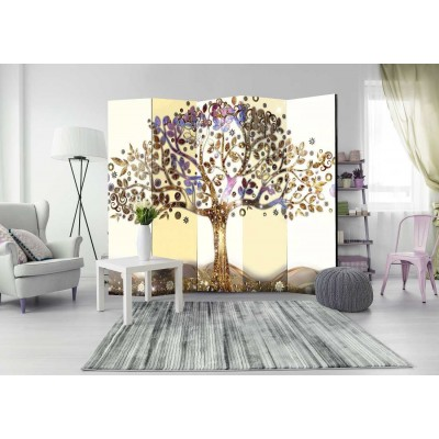 Biombo de 5 hojas Magic Tree 225x172 cm