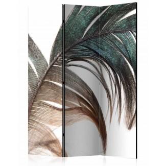 Biombo de 3 hojas Pluma 135x172 cm