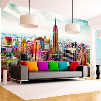 Fotomural para pared gran formato Colores de Nueva York