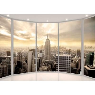 Fotomural para pared gran formato Hola Nueva York