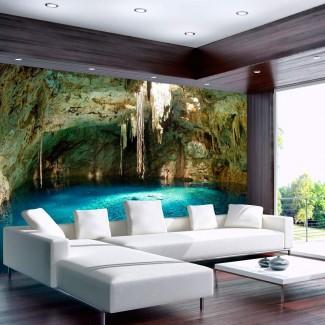 Fotomural para pared gran formato Estalactitas