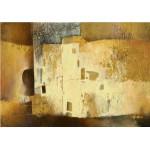 Fotomural para pared gran formato Sinfonía en Dorado