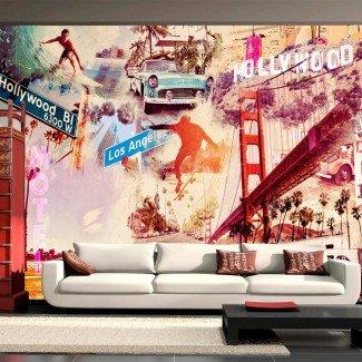 Fotomural para pared gran formato California Dream