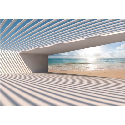 Fotomural para pared gran formato Hello Beach