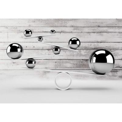 Fotomural para pared gran formato Equilibrio Inestable