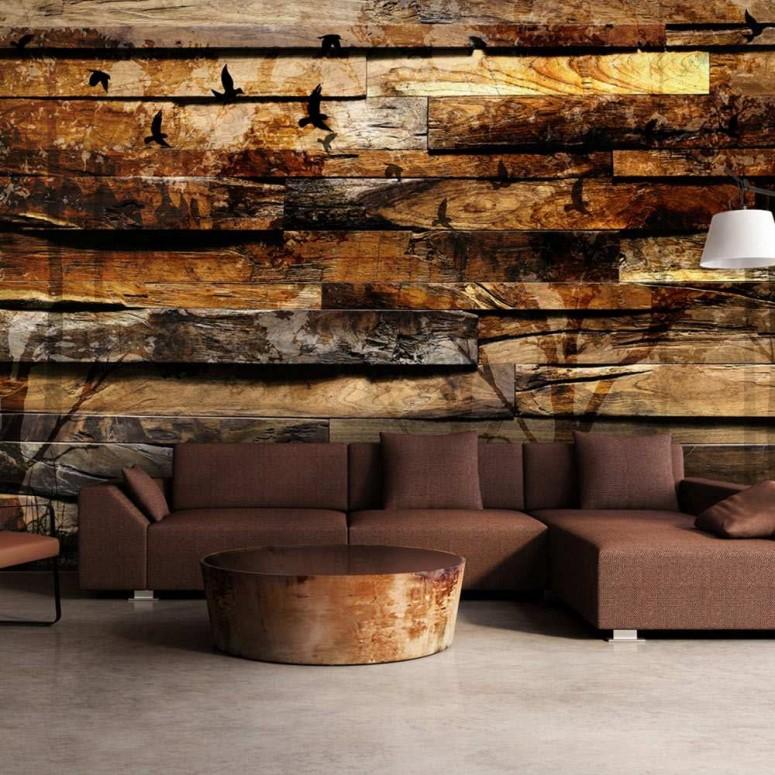 Fotomural para pared gran formato Natural Reflection