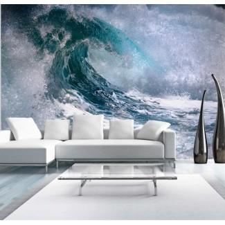 Fotomural para pared gran formato La Ola