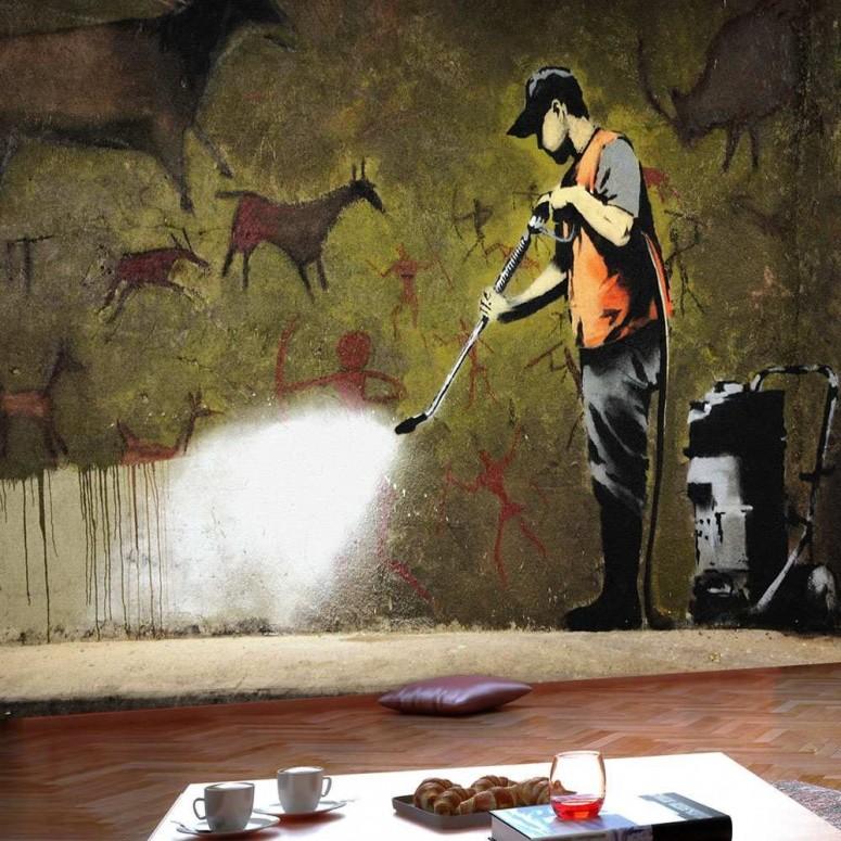 Fotomural para pared gran formato Cueva de Banksy