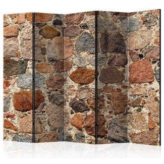 Biombo de 5 hojas El Muro 225x172 cm