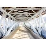 Fotomural para pared gran formato White Bridge