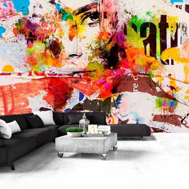 Fotomural para pared gran formato Urban Graffiti