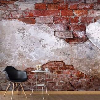 Fotomural para pared gran formato Ladrillos