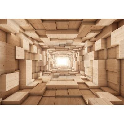 Fotomural para pared gran formato Pasillo infinito