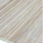 Alfombra de bambú decapada Luna color natural