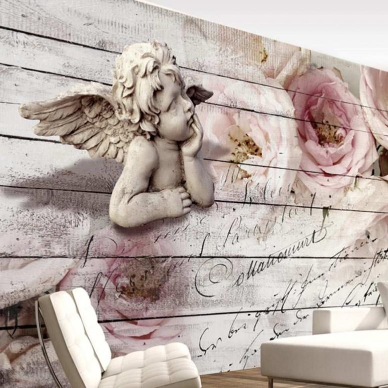 Fotomural para pared gran formato Angelotes
