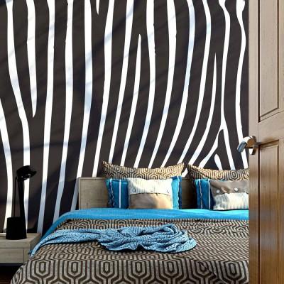 Fotomural para pared gran formato Zebra