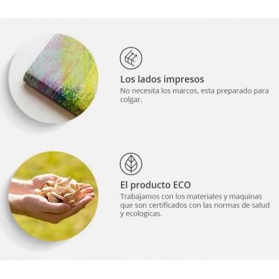 Tablero de corcho impreso Ciudades de España