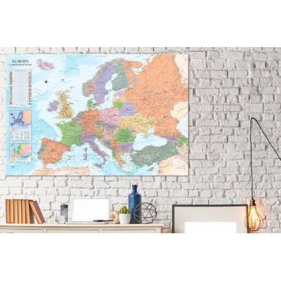 Tablero de corcho decorativo Europa Política