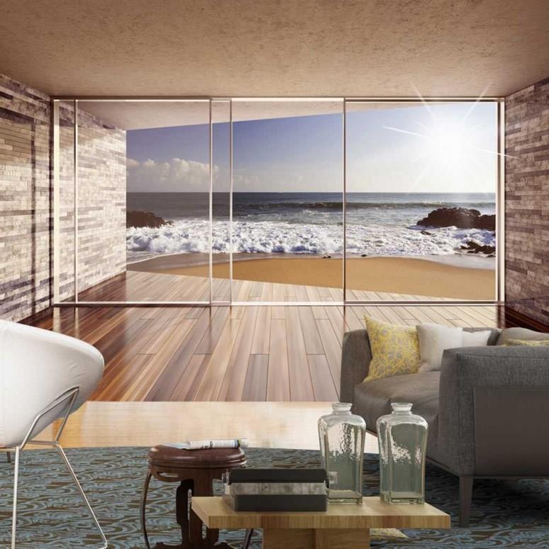 Fotomural para pared gran formato Terraza con vistas