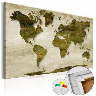 Tablero de corcho decorativo Mundo Bosques