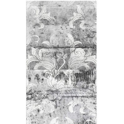 Papel pintado Silver Flowers