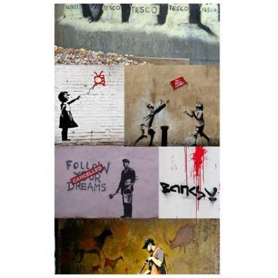 Papel pintado Colour Banksy