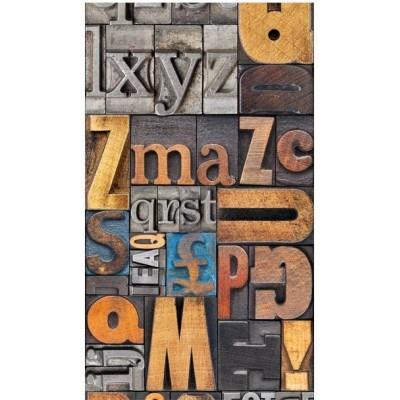 Papel pintado Tipografías