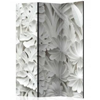 Biombo de 3 hojas Sueño de Alabastro 135x172 cm