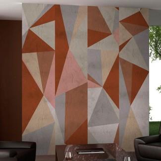 Papel pintado Triángulos