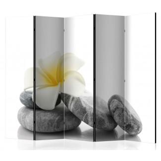 Biombo de 5 hojas Zen Garden 225x172 cm