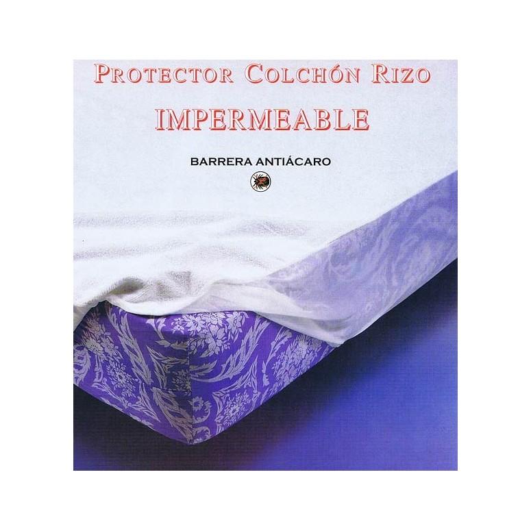 Protector de colchón impermeable Rizo