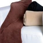 Manta de microfibra para sofá Living Colours