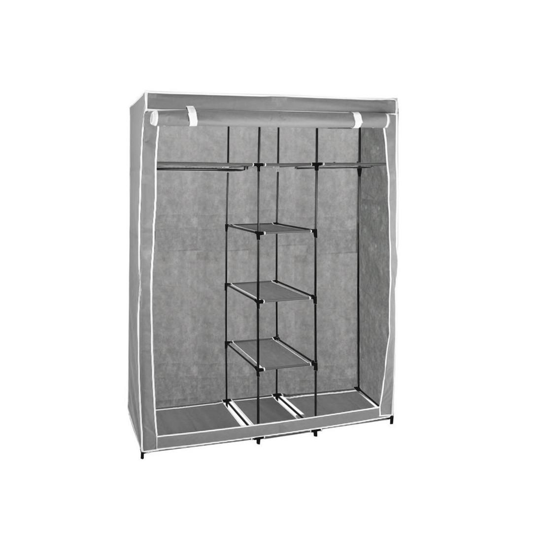 Comprar armario auxiliar plegable y portátil 140x167 cm