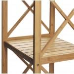 Estantería de bambú de 4 baldas