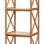 Estantería de bambú de 5 baldas
